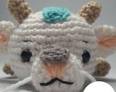 Chibi Dragon Haku Amigurumi Pattern, Spirited Away Crochet Pattern