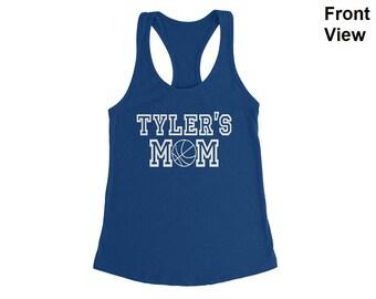Personalized Basketball Mom Shirt, Basketball Mom Tank Top, Basketball Mom Custom Tank, Basketball Shirt, Basketball Tank Top