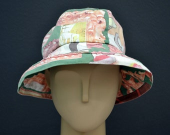 Moschino Hat Moschino Cheap and Chic Allover Print Bucket Hat Size S