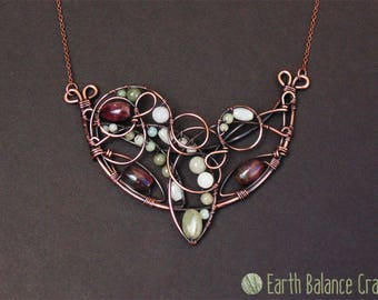Copper Wire Art Home Decor Gifts Jewellery by