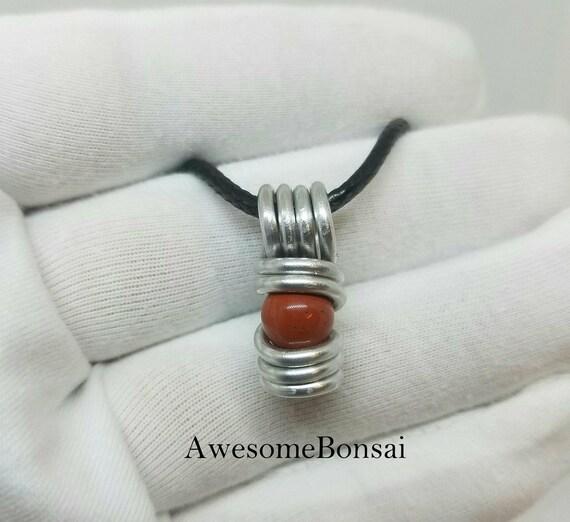 Red Jasper necklace, Gemstone jewelry,  Wire wrapped stone pendant, Bridal Jewelry, Red Jasper jewelry, gypsy necklace, Boho chick, Chakra