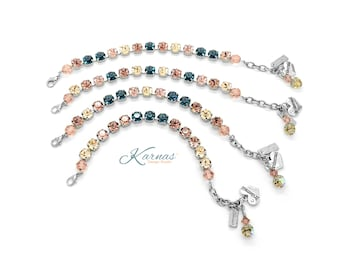 BRIDESMAID BUNDLE 8mm Bracelet Made With Swarovski Crystal  *Professionally Designed For You! *Karnas Design Studio *Free Shipping