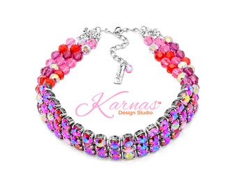 LIGHTS CAMERA ACTION Exclusive 8mm Crystal Statement Choker Swarovski Crystal *Antique Silver *Karnas Design Studio™ *Free Shipping