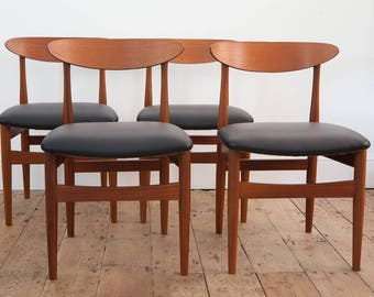 4 Lovely Vintage G-Plan Dining Chairs