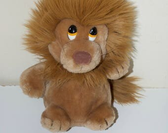 Dakin Ludicrous Lion Stuffed Plush Animal 1982 12""