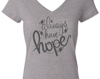 Gray Always Have Hope Shirt