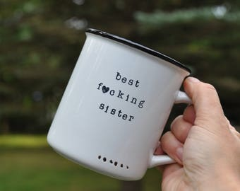 Sister mug sister gift for sister coffee mug sister birthday gift sisters mug sister coffee mug personalized mug custom mug funny sister mug