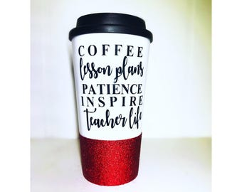 Teacher Life/ Grad Student/ Teacher Coffee Mug/ Class Room/