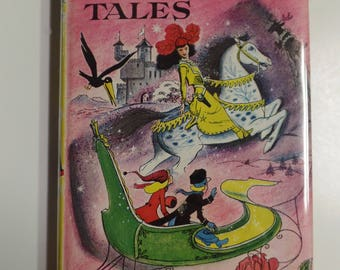 Andersen's Fairy Tales by Hans Christian Andersen Doubleday Classics 1956 Junior Deluxe Editions Vintage Kids Hardcover Book