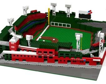 Fenway Park - Boston Red Sox Baseball Stadium, Brick Model