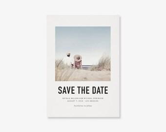 Photo Save the Date Card, digital PDF file (STD_050)