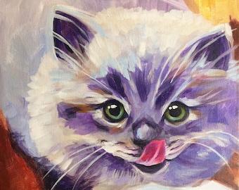 Breakfast Kitty