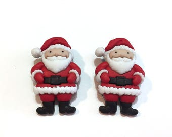 Santa Claus Christmas Buttons Dress It Up Mr And Mrs Jesse James Set