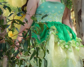 The Emerald Fairy Dress #size6-8 #RTS