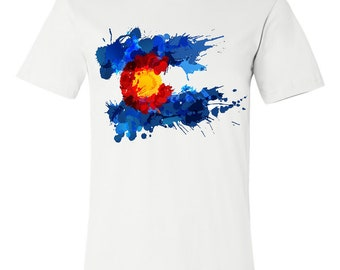 Colorado State Flag Graphic Tee