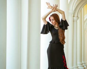 """Flamenco skirt """"Manuela"""""""