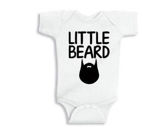 Little Beard Onesie, Baby onesie, Onesie, Funny onesie, Beard onesie, onesie for boy
