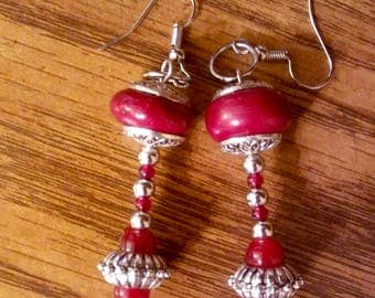Handmade earrings by Jukeboxx Jewelry & Crochet