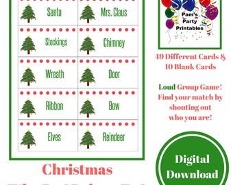 Christmas Family Feud Printable Game Christmas Family