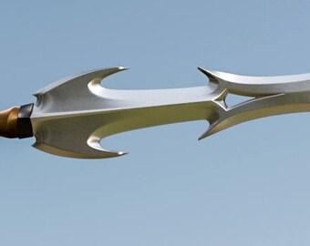 Hela's sword replica from battle in Asghard DIY 3D-printable (Thor: Ragnarok)