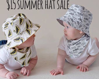 Early Bird Baby and Childrens Summer Bucket Hat