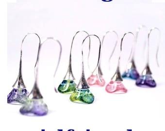 girlfriend gift/for/her wife gift jewelry trends earrings jewelry minimal earrings everyday earrings blue green jewelry/for/women pink пя27