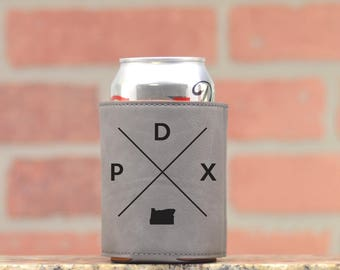 Portland | Can Cooler - Custom Can Coolers - Beer Cozy - Portland Oregon - PDX