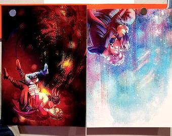 12/Clara Doctor Who Prints - S9 Set