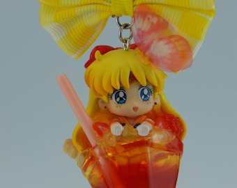 Sailor Moon Sailor Venus Minako Aino Cocktail Necklace