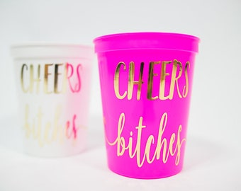party cups party favors girls weekend favors adult party cups