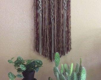 Kundalini Macrame Wall Hanging / Home Decor / Wall Art / Fiber Art / Bohemian / Boho