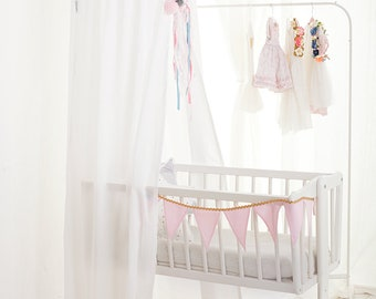 Canopy White Frill, Tent canopy, Bed Canopy, Crib Canopy, kids canopy, Play room canopy