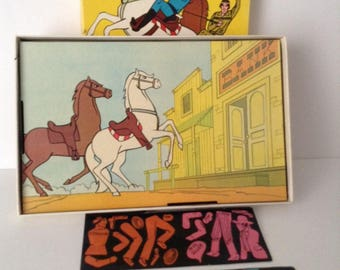 1966 Colorforms The Lone Ranger Cartoon Kit