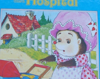 A Happy Ending Book - Tiggy goes to the Hospital - (Overcoming Shyness) - Children's Picture Story Book