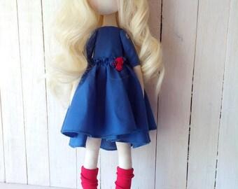 Textile doll Rag doll Fabric doll Muñecas Birthday doll Handmade doll Interior doll Art doll Cloth doll