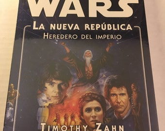 Star Wars: Heir to the Empire by Timothy Zahn (Spanish version) paperback