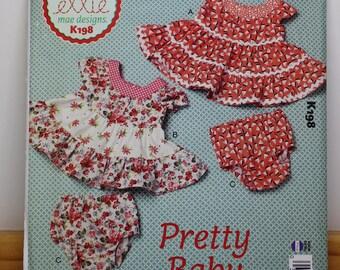 Pretty Baby:  Ellie Mae Designs, baby girl dress designs.