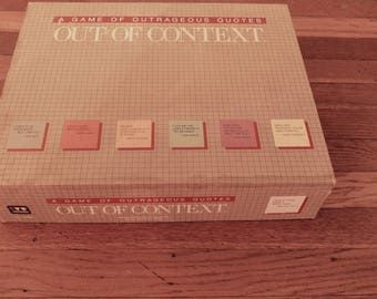 Vintage Out of Context Board Games by Hersch