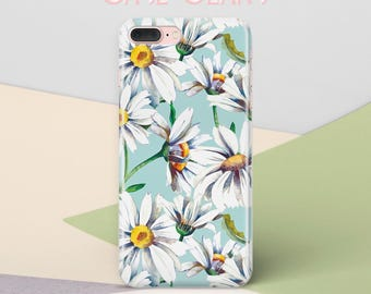 iPhone 7 Plus Case Camomile iPhone 7 Case Flowers iPhone 6 Floral iPhone 6s Plus Case iPhone 8 Plus Case iPhone X Case Galaxy S8 Case CG1332