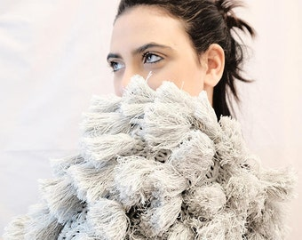 eco fur, cachemire knit fuzzy coat fluffy tassels cardigan pelliccia ecologica cappotto nappe cachemire maglieria donna, wool coat hand made