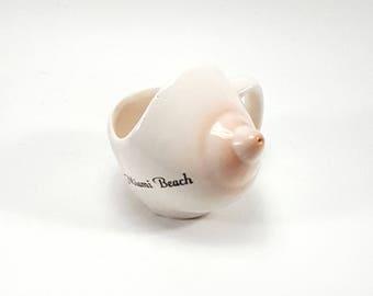 Miami Beach Souvenir Boob Cup Sipper