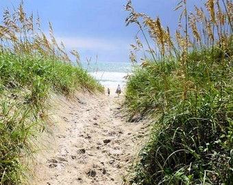 Beach Sand Dunes, Beach Photos, Beach Photography, Beach House Decor, Beach Wall Art, Seascape, Ocean Print, Ocean Decor, Ocean Art, Beach