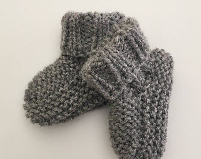 Baby booties 0-12 months