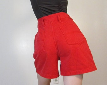 80s High Waisted Shorts : Size 6