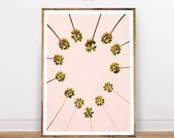 Palm Tree Print, Palm Tree Photo, Tropical Decor, Palm Tree, Tropical Print, Instant Download Wall Art, Palm Printable Art, Palm Photography