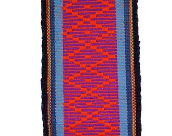 Mapuche weave (Red, purple, blue, black)
