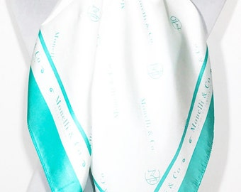 Luxury 100% Silk Scarf - Signature