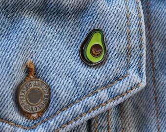 Avocado Tumblr Enamel Pin to put on jackets, hats, bags,etc.
