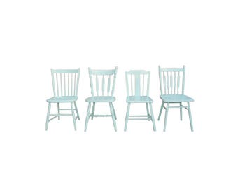 Farmhouse Dining Chairs , Set of Four Chairs
