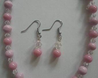 Pink Beaded Jewelry